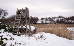 Nordisk kustlinje Arkivbilder