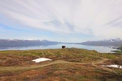 nordisk liggande Royaltyfri Fotografi