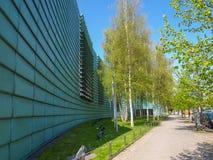 Nordiska ambassader i Berlin Arkivbilder