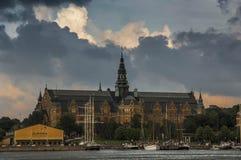 The Nordiska Museum in Stockholm Sweden Stock Image