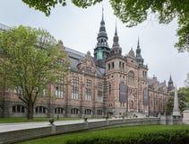 Nordiskt museum Stockholm Royaltyfria Bilder