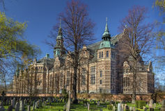 Nordiskt museum, Stockholm royaltyfria bilder