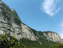 Norditalien-berge Lizenzfreies Stockfoto