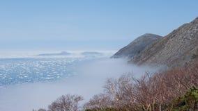 Nordküstenmeer von Ochotsk Lizenzfreie Stockfotos