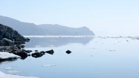 Nordküstenmeer von Ochotsk Stockbilder