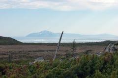 Nordküstenmeer von Ochotsk Lizenzfreie Stockbilder