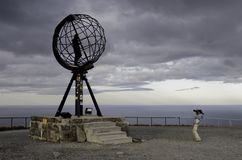 Nordkapp Photographie stock