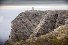 Nordkapp. Northern end of europe Royalty Free Stock Photography