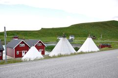 Nordkapp Στοκ εικόνα με δικαίωμα ελεύθερης χρήσης