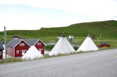 Nordkapp. The nordest town in Europe Royalty Free Stock Image