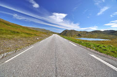 Nordkapp/Northcape summer road, Finnmark Stock Photography