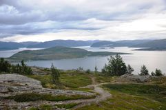 Nordkapp. Norway has beautifull landscapes and fjords Royalty Free Stock Photography
