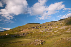 Nordkapp summer landscape, Norway Stock Photography
