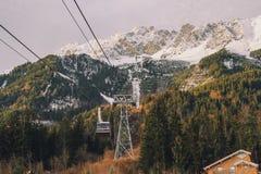 Nordkette Innsbruck Fotografía de archivo libre de regalías