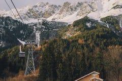 Nordkette Innsbruck Stockbilder