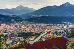 Nordkette mountain in Tyrol, Innsbruck, Austria. Stock Photo