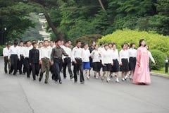 Nordkorea 2011 Royaltyfri Fotografi