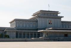 NORDKOREA Pyongyang: Centrum på Oktober 12, 2011 KNDR Royaltyfri Foto