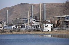 Nordkoreas Fabrik Stockfotos