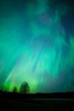 Nordlicht-aurora borealis-Landschaft Stockbilder