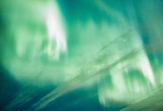 Nordlicht-Hintergrund Lizenzfreies Stockbild