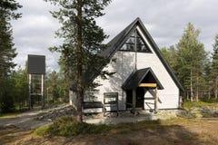 Nordlichtkapelle Lizenzfreie Stockbilder