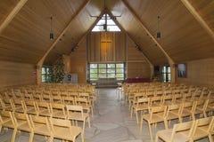 Nordlichtkapelle Lizenzfreie Stockfotos