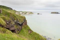 Nordlig atlantisk kust - - Irland Arkivfoto