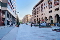 Nordlig aveny, Yerevan, Armenien Fotografering för Bildbyråer