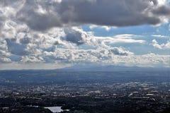 Nordlig Belfast panoramautsikt - - Irland Royaltyfria Bilder