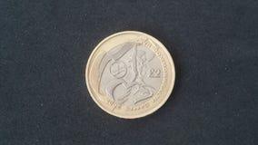 Nordlig brittiska samväldet - Irland £2 mynt Arkivbild