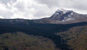 Nordlig Förenta staterna höga Rocky Mountain Places Arkivbild