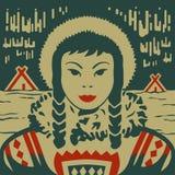 Nordlig flicka Royaltyfri Bild