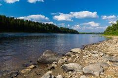 Nordlig flod royaltyfri bild