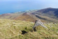 nordlig ireland bergmourne Arkivbilder
