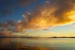 Nordlig Norge kust Royaltyfria Foton