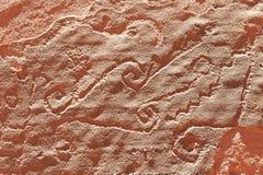 nordlig rock för aboriginal argentina konst Royaltyfri Fotografi