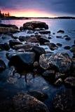 nordlig shoreline Fotografering för Bildbyråer
