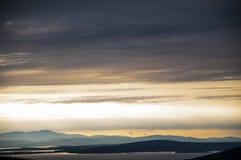 Nordlig solnedgång Royaltyfria Foton