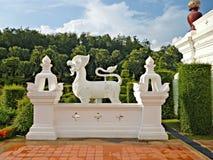Nordlig thai arkitektur: landskapbeståndsdel Royaltyfria Foton