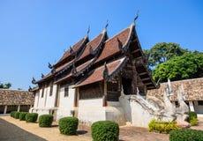 Nordlig Thailand gammal tempel Royaltyfria Bilder
