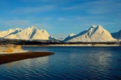 Nordliga berg Arkivfoto