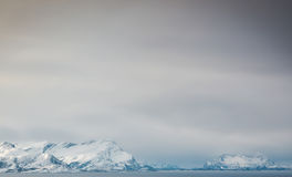 Nordliga berg Arkivfoton