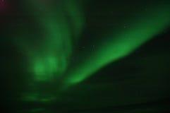 nordliga lampor ii Arkivbilder