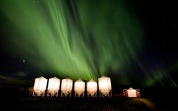Nordliga lampor Kanada Royaltyfri Bild