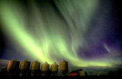 Nordliga lampor Kanada Arkivbilder