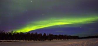 Nordliga lampor (norrsken) Royaltyfri Foto