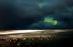 Nordliga ljus 07 10 15 Arkivfoto