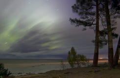 Nordliga ljus 07 10 15 Royaltyfri Fotografi