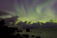 Nordliga ljus 07 10 15 Arkivfoton